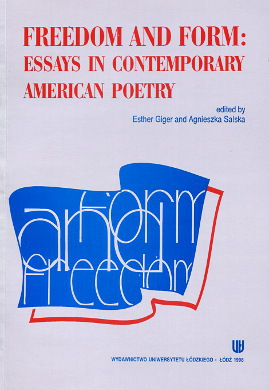 Giger Salska Freedom and form Essays in contemporary American poetry American Culture and Its Impact Wurst Plath Altieri Mazur Cazé Goldensohn Rukeyser Honicker Hacker Steffen Dove Finck Ammons Dacey 8371712006 83-7171-200-6 9788371712005 978-83-7171-200-5 wab0179