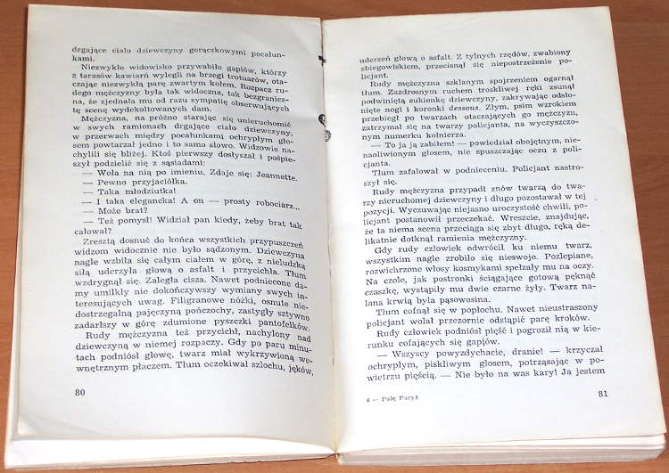 Jasienski-Bruno-Pale-Paryz-Czytelnik-1957-I-Burn-Paris-komunizm-awangarda