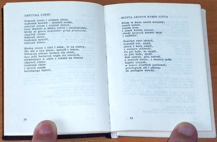 Nowak-Tadeusz-Zapisane-na-Dunajcu-wyd-1-dodruk-Zakopane-Oficyna-Wydawnicza-Zwiazku-Podhalan-1987-poezja-wiersze