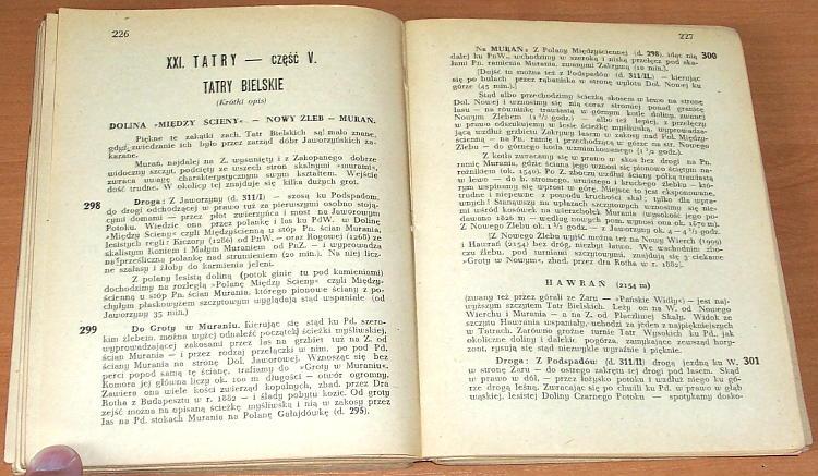 Zwolinski-Tadeusz-Przewodnik-po-Tatrach-i-Zakopanem-Wyd-VII-Zakopane-Polskie-Towarzystwo-Tatrzanskie-1948-gory-Tatry