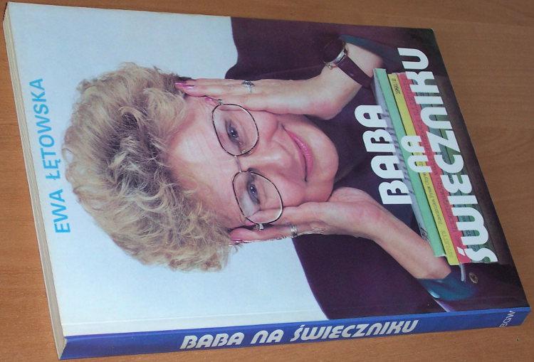 Letowska-Ewa-Baba-na-swieczniku-Warszawa-Polska-Ofic-Wydawnicza-BGW-1992-Rzecznik-praw-obywatelskich-rozm-Janicki-Podemski