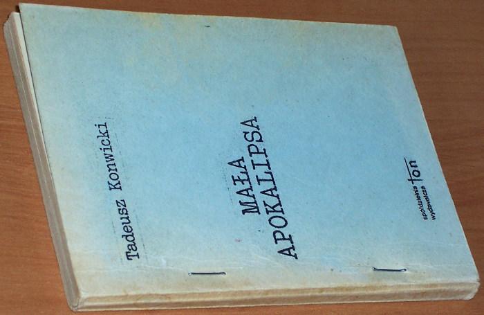 Konwicki-Tadeusz-Mala-apokalipsa-B-m-Torun-Spoldzielnia-Wydawnicza-TON-Torunska-Oficyna-Niezaleznych-b-r-1981-Zapis-10