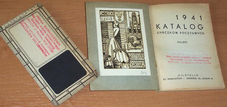 Tuszynski-Katalog-znaczkow-pocztowych-1941-Polska-Litwa-Srodkowa-Port-Gdanski-General-Gouvernement-Krakow-Filatelia-1941