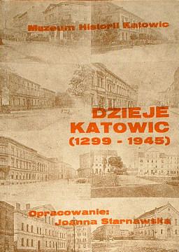 Starnawska Dzieje Katowic Katowice historia Kattowitz history wac0070