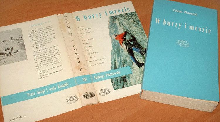 Piotrowski-W-burzy-i-mrozie-Iskry-1977-Mountain-alpinizm-gory-Kazalnica-Tatry-Mount-Blanc-Trollryggen