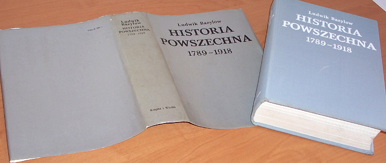 Bazylow-Ludwik-Historia-powszechna-1789-1918-Ksiazka-i-Wiedza-1981