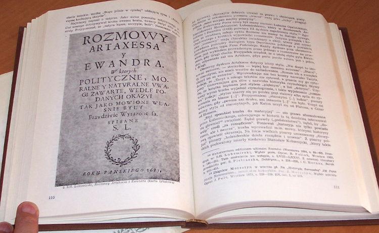 Starnawski-Dzieje-wiedzy-o-literaturze-polskiej-do-konca-w-XVIII-Ossolineum-1984-history-literary-Polish-criticism