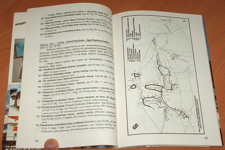 Kielkowscy-Gora-Koloczek-Przewodnik-wspinaczkowy-po-skalkach-Wyzyny-Krakowsko-Czestochowskiej-III-Gliwice-Explo-1992