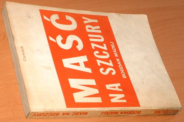 Madej-Bogdan-Masc-na-szczury-Opowiadania-Wyd-drugie-Czytelnik-1988