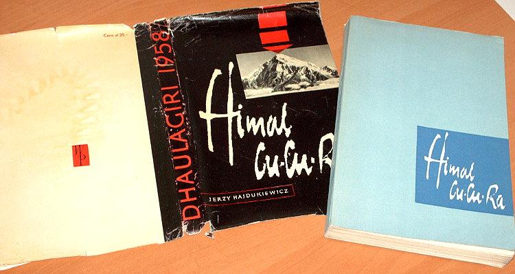 Hajdukiewicz-Jerzy-Himal-Cu-Cu-Ra-Dhaulagiri-1958-Wiedza-Powszechna-1961-Swiss-Dhaulagiri-Himalayan-Expedition