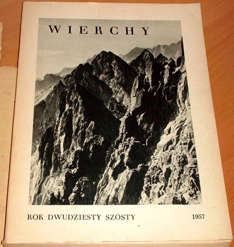 Wierchy-R-26-PTTK-PWN-1957-Tatry-gorale-Sudety-Beskidy-Jarosz-Goetel-Krygowski-Dlugosz-Kazalnica-Passendorfer-Gory