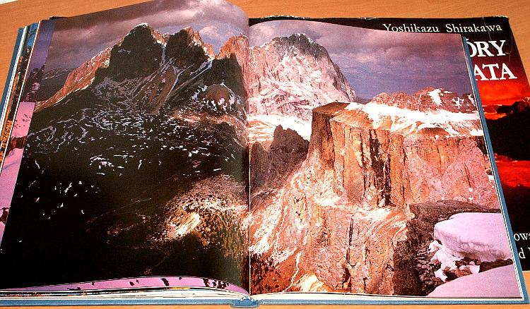 Shirakawa-Yoshikazu-Gory-swiata-Muza-1993-Tlum-Parys-Montagne-del-mondo-Messner-Fotografia-japonska-album-Mountains