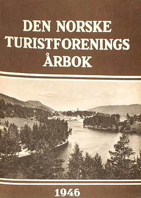 Den Norske Turistforenings Årbok Arbok DNT Norwegia turystyka Norge turist wac0265