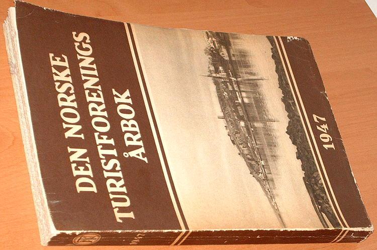 DNT-Den-Norske-Turistforenings-Arbok-1947-Norwegia-turystyka-Norge
