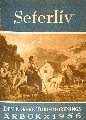 Den Norske Turistforenings Årbok Arbok DNT Norwegia turystyka Norge turist wac0267