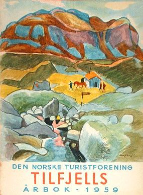 Den Norske Turistforenings Årbok Arbok DNT Norwegia turystyka Norge turist wac0269