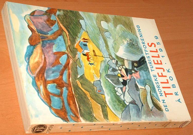 DNT-Den-Norske-Turistforenings-Arbok-1959-Norwegia-turystyka-Norge