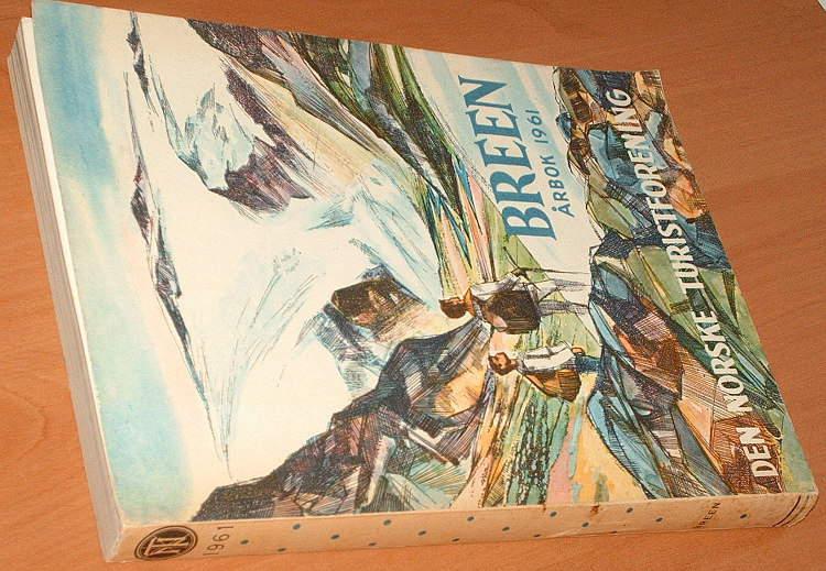 DNT-Den-Norske-Turistforenings-Arbok-1961-Norwegia-turystyka-Norge