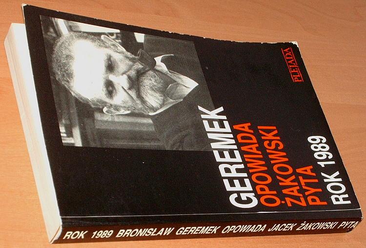 Geremek-Rok-1989-Bronislaw-Geremek-opowiada-Jacek-Zakowski-pyta-Plejada-1990-Okragly-stol-wybory-4-czerwca-Walesa