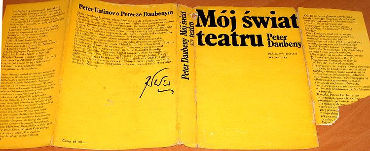 Daubeny-Peter-Moj-swiat-teatru-PIW-1974-teatr-tlum-Tarlowska-My-world-of-theatre-Bryden-Szydlowski