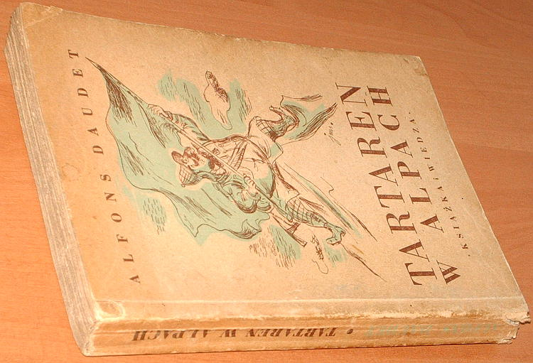 Daudet-Alphonse-Tartaren-w-Alpach-Wielkich-czynow-taraskonskiego-bohatera-ciag-dalszy-KIW-1950-Tartarin-sur-les-Alpes