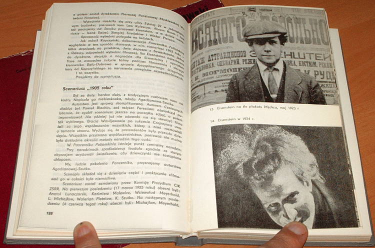 Szklowski-Wiktor-Eisenstein-WAiF-1980-rezyser-radziecki-film-biografia-tlum-Pollak