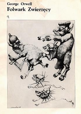 Orwell Lebenstein Folwark zwierzęcy zwierzecy Jeleńska Animal Farm 8385158022 83-85158-02-2 9788385158028 978-83-85158-02-8 wac0299