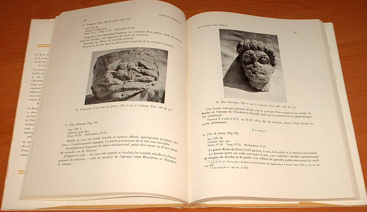 Michalowski-Kazimierz-Palmyre-Fouilles-polonaises-1959-Wykopaliska-polskie-PWN-Mouton-1960-Archaeology-archeologia