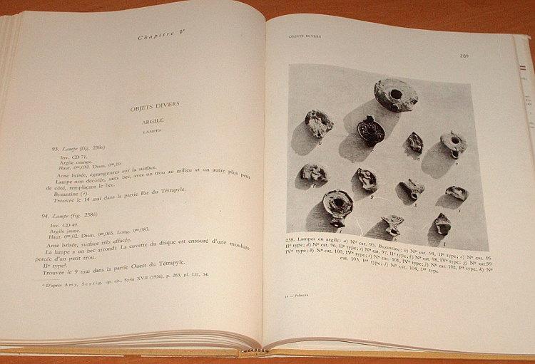 Michalowski-Kazimierz-Palmyre-Fouilles-polonaises-1960-Wykopaliska-polskie-PWN-Mouton-1962-Archaeology-archeologia