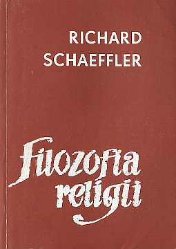 Schaeffler Filozofia religii Kowalska Religionsphilosophie philosophy wae0038