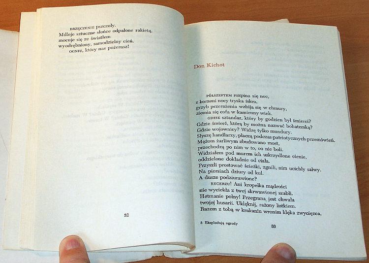 Kurek-Jalu-Eksploduja-ogrody-Warszawa-PIW-Panstwowy-Instytut-Wydawniczy-1964-wiersze-poezja-poetry