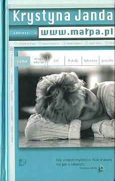 Janda www.małpa.pl www malpa pl aktorzy aktor aktorka film teatr pamiętnik diaries diary motion picture actress 8389291894 83-89291-89-4 9788389291899 978-83-89291-89-9 wae0045