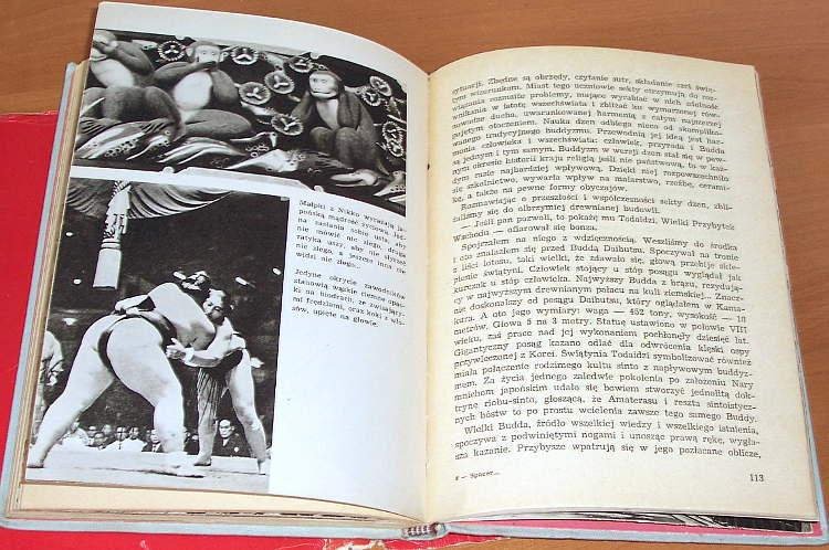 Dworczyk-Wojciech-Spacer-wsrod-kwitnacych-wisni-Czytelnik-1966-Japonia-Japan-Nippon