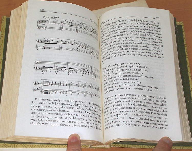 Iwaszkiewicz-Jaroslaw-Pisma-muzyczne-Czytelnik-1983-Dziela-Chopin-Szymanowski-Bach-Muzyka