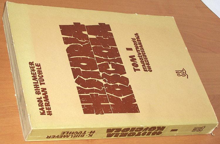 Bihlmeyer-Karl-Tuechle-Hermann-Historia-Kosciola-1-Starozytnosc-chrzescijanska-SSL-1971-Kirchengeschichte-Klenowski