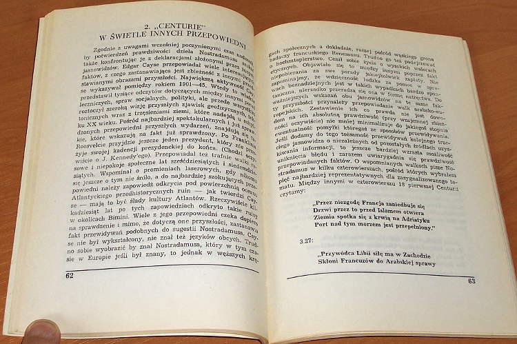 Szymaniak-Zbigniew-Centurie-Nostradamusa-Interpretacje-Przepowiednie-losow-Polski-Europy-i-swiata-Zielona-Gora-1990