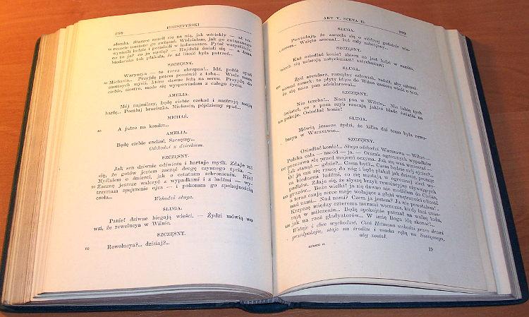 Slowacki-Juliusz-Dziela-Juliusza-Slowackiego-T-VI-Dramaty-Lwow-Nakl-Ksieg-W-Gubrynowicza-1909