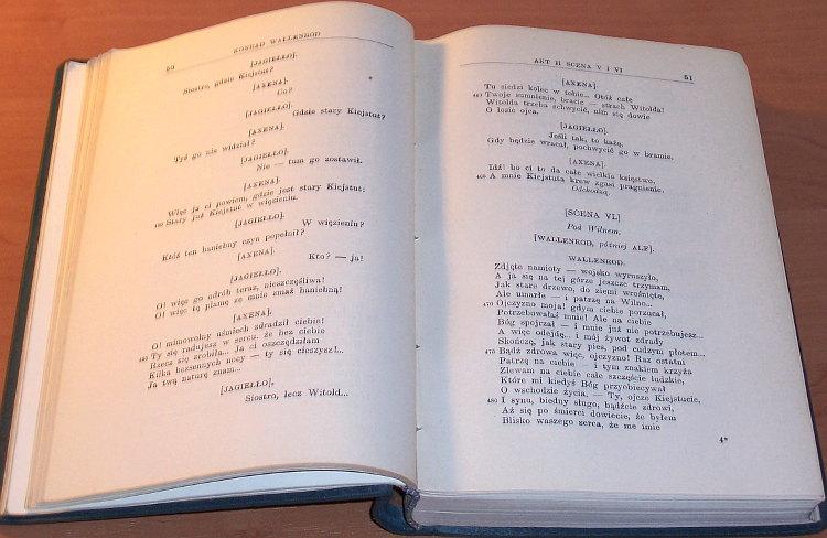 Slowacki-Juliusz-Dziela-Juliusza-Slowackiego-T-VII-Dramaty-Lwow-Nakl-Ksieg-W-Gubrynowicza-1909