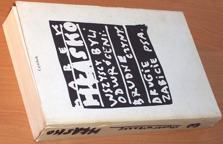 Hlasko-Marek-Utwory-wybrane-3-Wszyscy-byli-odwroceni-Brudne-czyny-Drugie-zabicie-psa-Wyd-4-Czytelnik-1989