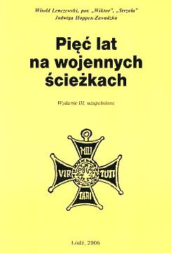Lenczewski Pięć lat na wojennych ścieżkach AK Armia Krajowa partyzantka II wojna światowa wae0083