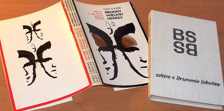 Ficowski-Regiony-wielkiej-herezji-Szkice-o-zyciu-i-tworczosci-Brunona-Schulza-wyd-2-Wyd-Literackie-1967-Drohobycz