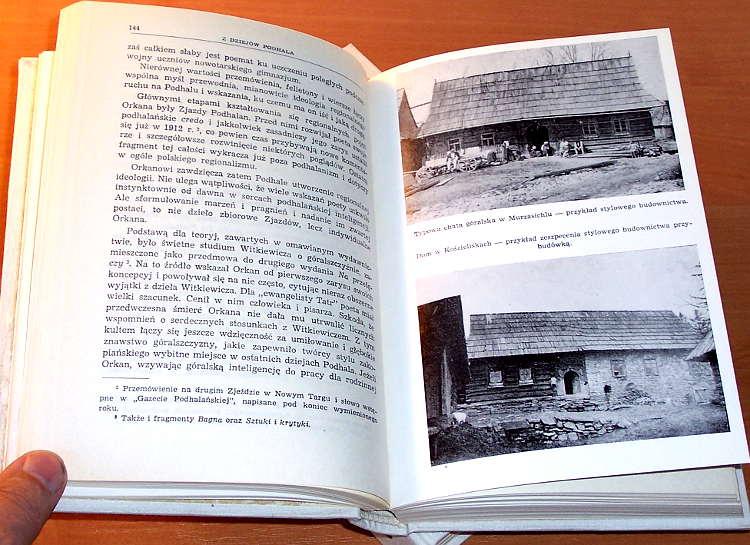 Zborowski-Juliusz-Pisma-podhalanskie-I-II-Wydawn-Literackie-1972-Tatry-Zakopane-Podhale-gorale-etnografia