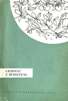 Łączkowski Laczkowski Ciemność z bursztynu Ciemność poezja poetry wiersze autograf autograph poems wae0106