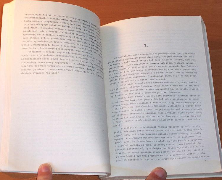 Zycinski-Jozef-Pisma-z-kraju-Ubu-Niezalezna-Oficyna-Wydawnicza-Nowa-1989-Biblioteka-Kwartalnika-Politycznego-Krytyka
