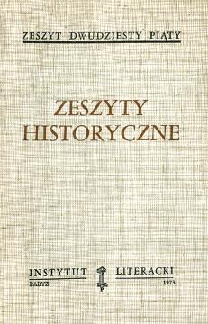 Zeszyty historyczne Żeleński Pieracki Siemaszko Buczek Świętochowski Korzec Babiński Armia Krajowa Zawadowski wae0140