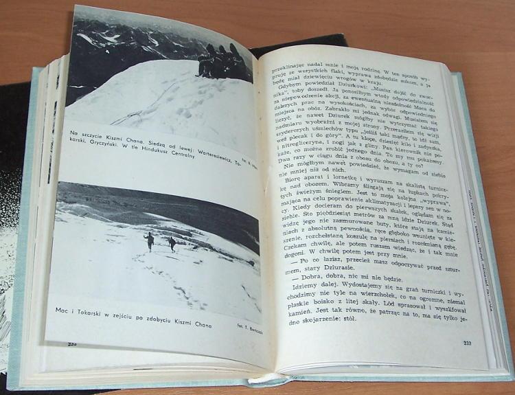 Wilczkowski-Andrzej-Sniegi-pokutujace-Wydawn-Lodzkie-1971-Hindukusz-Wysoki-1963-Klub-Wysokogorski-Afganistan-mountains