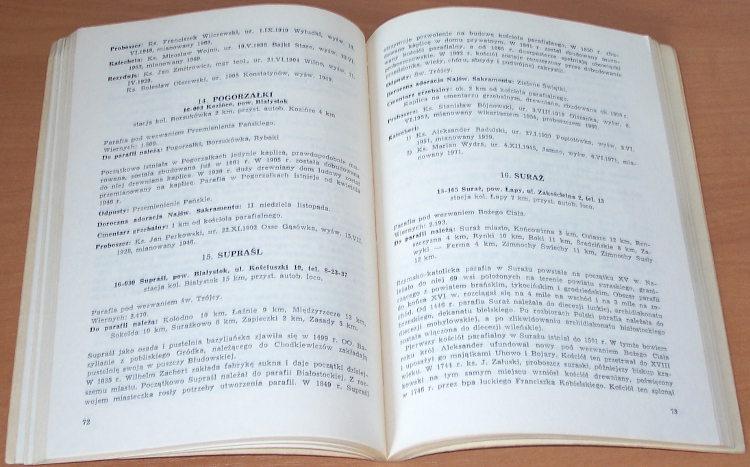 Spis-Kosciolow-i-Duchowienstwa-Archidiecezji-w-Bialymstoku-1-czerwca-1973-r-Bialystok-Kuria-Arcybiskupia-1973
