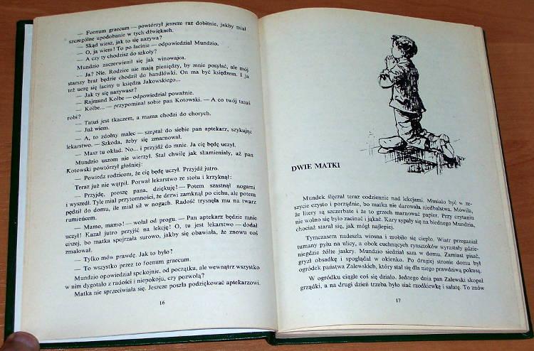 Kaczkowska-Maria-Ojciec-Kolbe-Niepokalanow-OO-Franciszkanie-1975-biografia-Biography-First-Edition