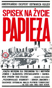Henze Spisek na życie Papieża Kedaj The plot to kill the pope wba0060