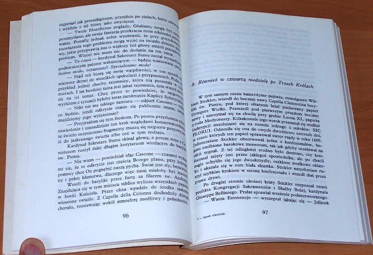 Vandenberg-Philip-Philipp-Spisek-sykstynski-Krakow-Agencja-Wydawnicza-Liberal-1992-Sixtinische-Verschwoerung-transl-Sawicki